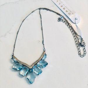 Sorrelli Necklace Aqua Blue